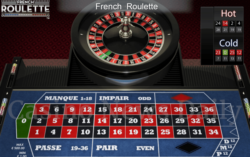 FRENCH roulette m88
