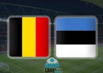 Bỉ vs Estonia