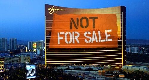 Las Vegas Sands sẽ không mua lại Wynn Resorts