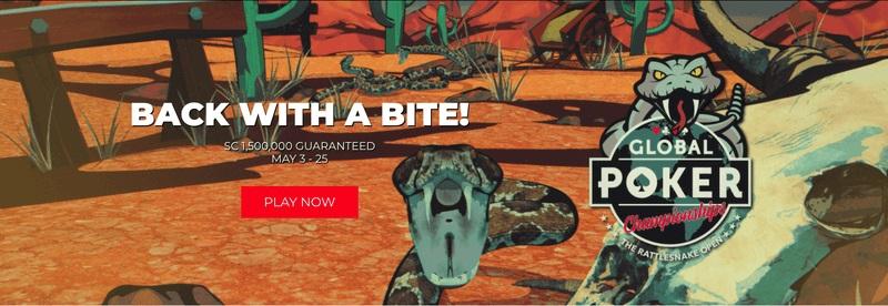 Giải đấu poker trực tuyến Rattlesnake Open III