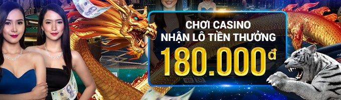W88 tặng tiền thưởng hấp dẫn khi đặt cược tại casino