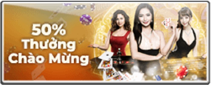 Nhận thưởng tới 50% với casino trực tuyến