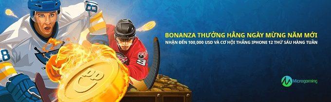 Siêu khuyến mãi cực hấp dẫn với giải đấu Bonanza