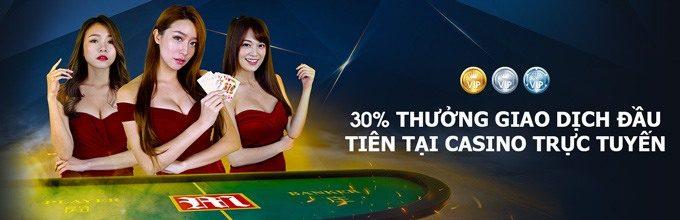 Thưởng dành cho giao dịch gửi tiền đầu tiên tại Central Casino trực tuyến
