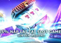 Thưởng nạp tại Slot Games