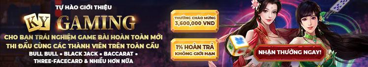 Trải nghiệm Ky Gaming để nhận thưởng chào mừng 30%