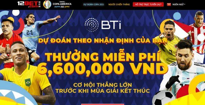 Dự đoán cược Copa nhận ngay 1.200.000 VND