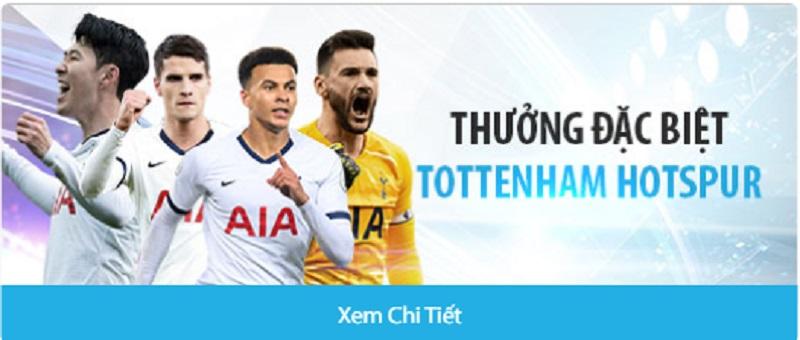Nhận thưởng khi cược cho Tottenham mùa giải 2021